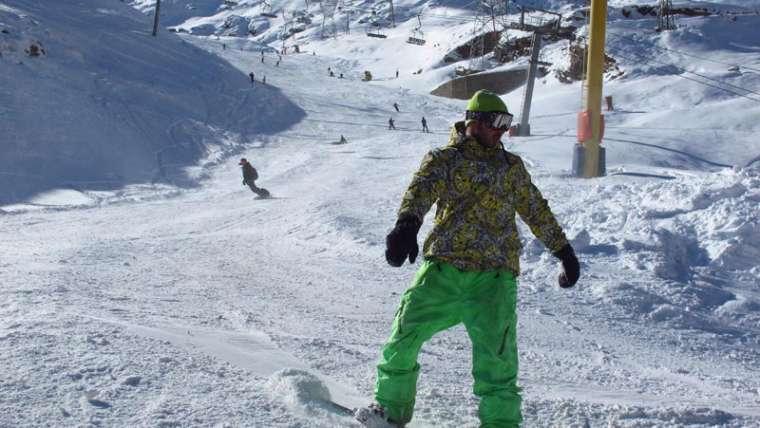 Snowboarding in Iran?