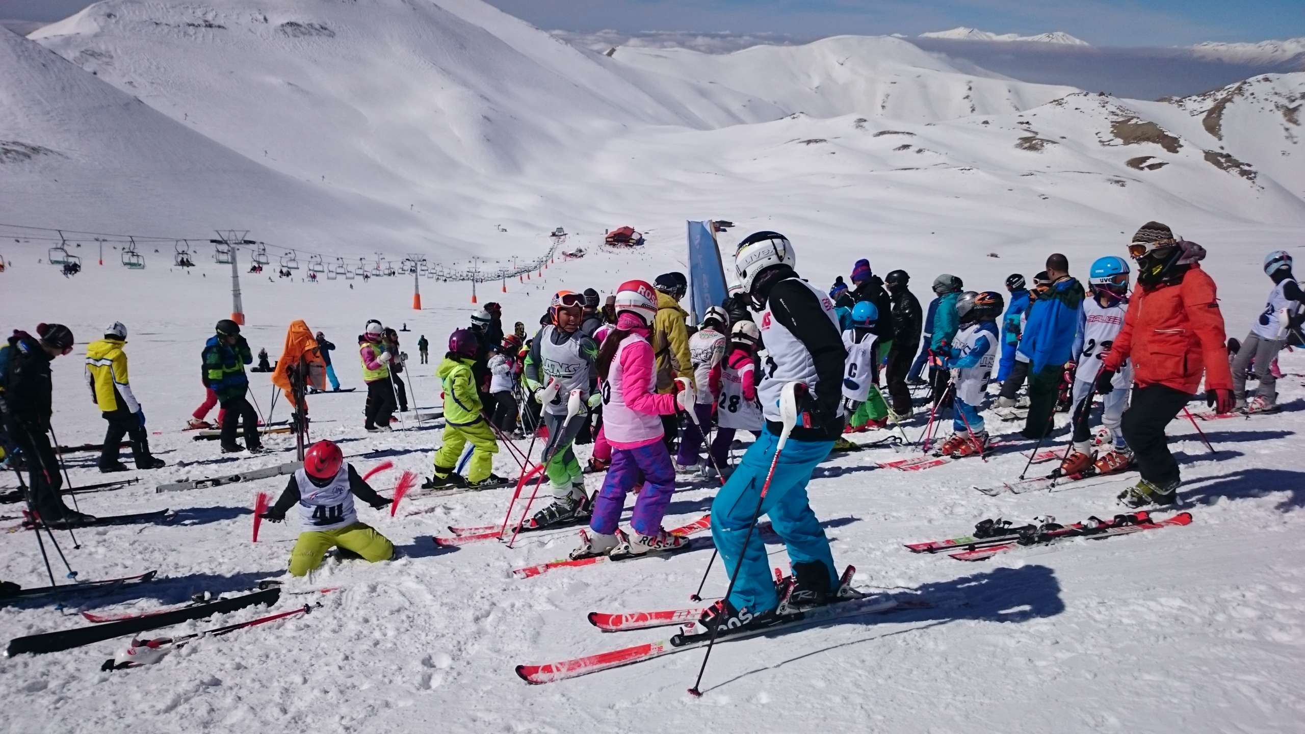 Ski for kids and adults