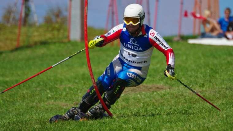 Grass Ski Race Training