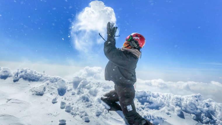 Alvares Ski Resort, Northwestern OF Iran